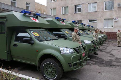 Обновленные санитарные Богдан-2251 отправились на Донбасс