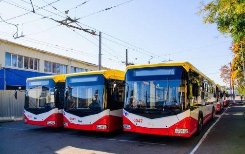 Одесса получила 47 новых троллейбусов