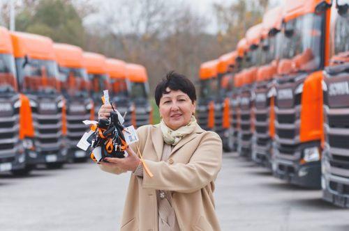Scania выполнила крупнейшую поставку грузовиков для клиента из Украины в этом году