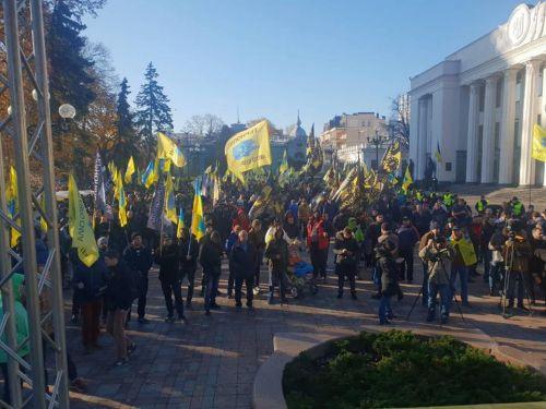 «Евробляхеры» перенесли акцию протеста