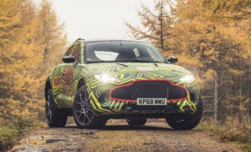 Каким будет первый кроссовер Aston Martin