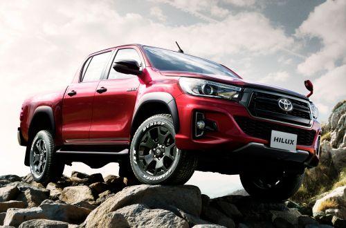 Toyota выпустила юбилейный пикап Hilux