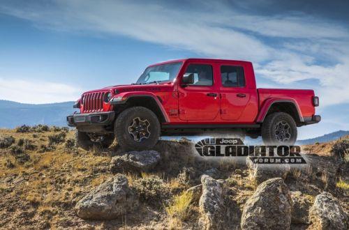 Каким будет новый пикап Jeep - Jeep