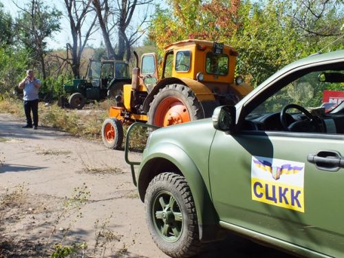Внедорожники Богдан 2351 задействованы в мониторинге обстановки на Донбассе