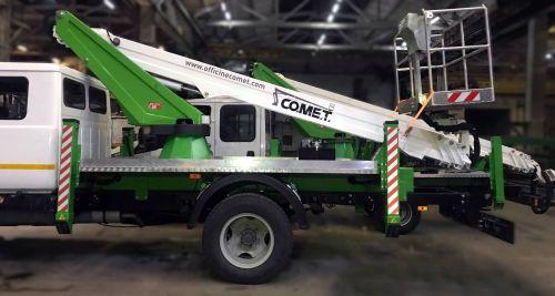 Ведущий украинский производитель автоподъемников сделал ставку на итальянские Comet