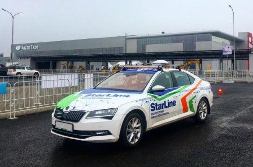 Беспилотный автомобиль проехал по дорогам России 2500 км