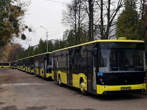 """Львовский """"Электрон"""" передал родному городу 20 автобусов"""