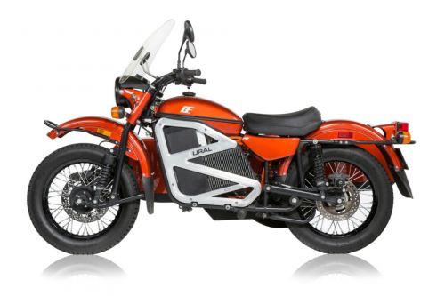 На электрический мотоцикл Урал уже поступило более 1000 заказов - Урал