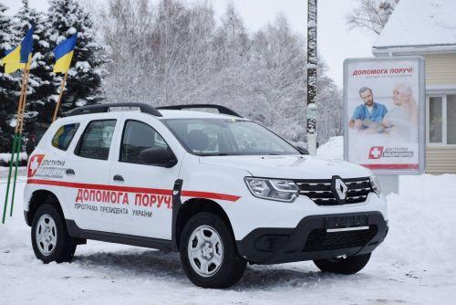 Сельские врачи начали получать новенькие Renault Duster