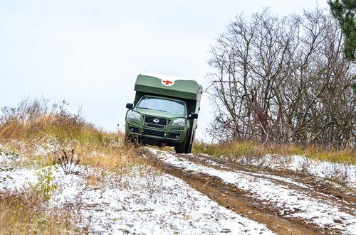 Богдан 2251 успешно тестируется в Карпатах