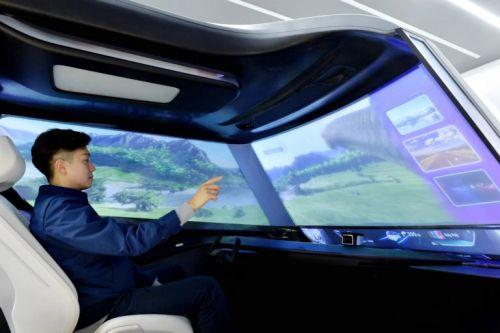 Hyundai уже придумал что будет показывать на лобовом стекле в эпоху беспилотников