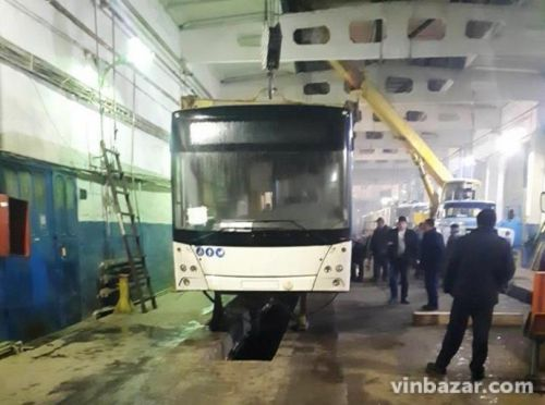 В Виннице начнут выпускать собственные троллейбусы в сотрудничестве с МАЗом