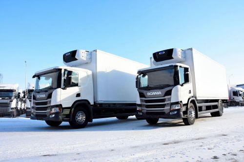 Scania начала поставки в Украину фургонов нового поколения