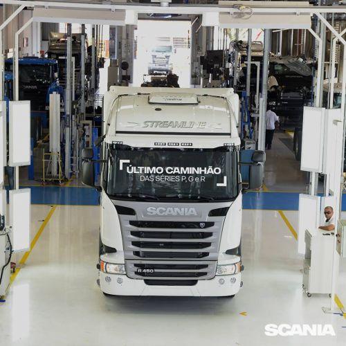 Scania выпустила последний грузовик предыдущей серии