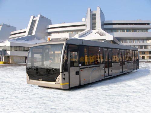МАЗ активно выходит на рынок транспорта для аэропортов