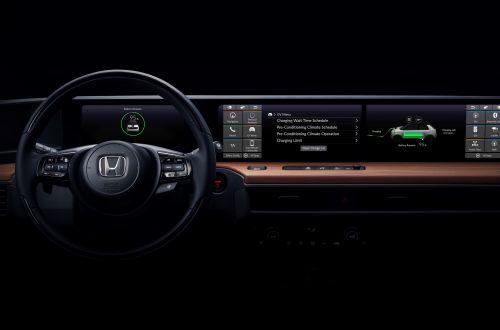 Каким будет интерьер городского электромобиля от Honda
