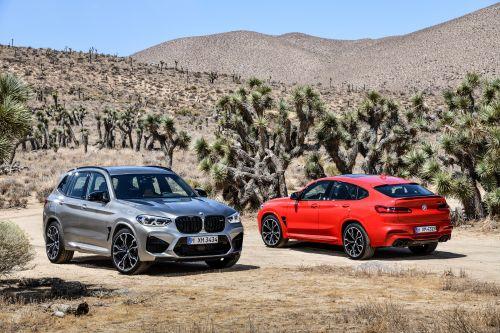 BMW представила сразу два «заряженных» кроссовера — X3 M и X4 M
