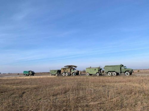 На какой технике ездят украинские подразделения ПВО