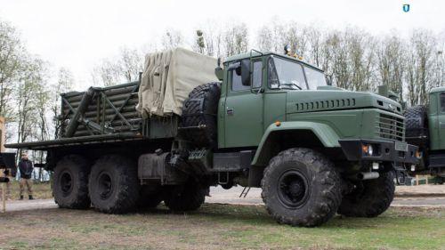 В Украине стартует производство реактивных систем «Верба» и «Ольха» на шасси КрАЗ