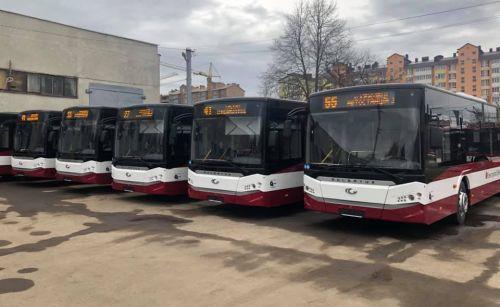 Ивано-Франковск с 19 марта полностью останавливает общественный транспорт