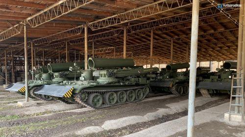 Украина начала экспорт ремонтно-эвакуационных машин