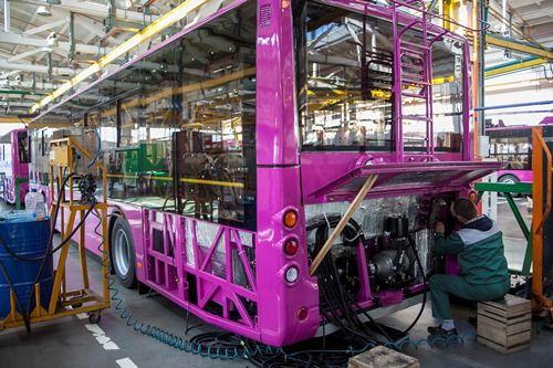 Все троллейбусы «Богдан» теперь оснащаются украинскими электродвигателями