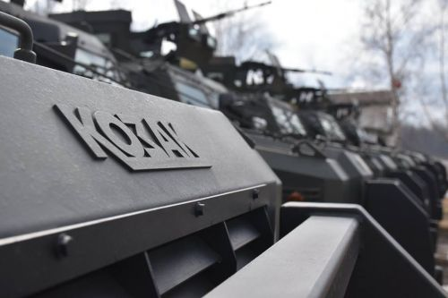 95 бригада ДШВ получила новые ББМ Козак-2