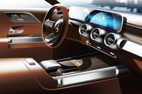 Mercedes-Benz рассекретил интерьер нового кроссовера GLB