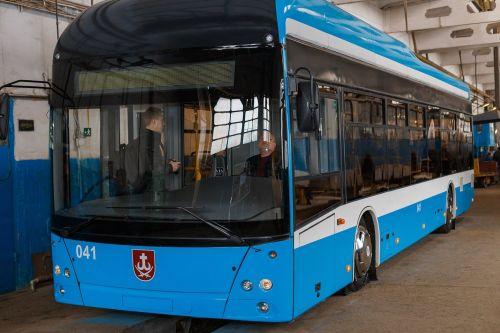 В Виннице начали выпускать собственные троллейбусы