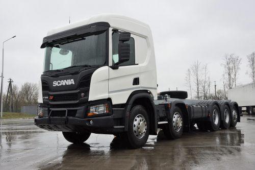 Scania поставила в Украину шасси с колесной формулой 10x4*6