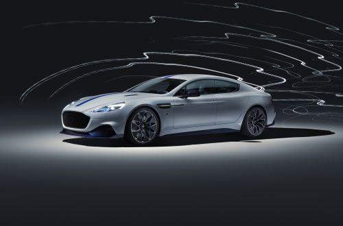 Первый электрокар от Aston Martin получит мотор в 610 сил