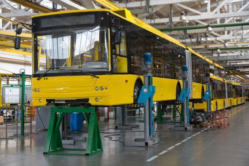 В Луцке стартовало производство партии троллейбусов для Киева