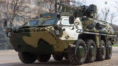 На ХКБМ запустили собственное серийное производство корпусов БТР-4