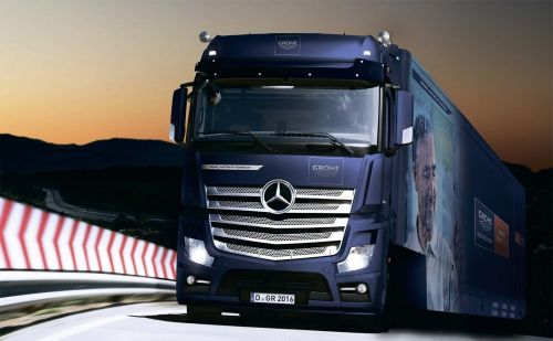 Эксклюзивный Grohe Truck прибыл в Киев