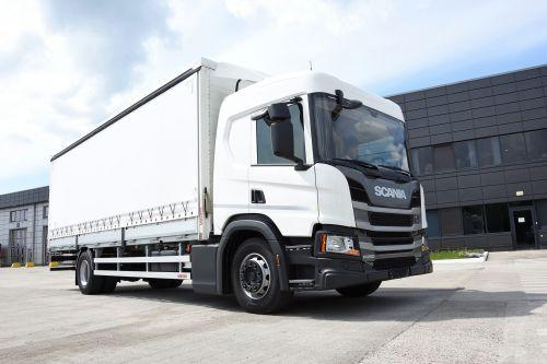 Scania начала поставки в Украину легких фургонов для региональных перевозок