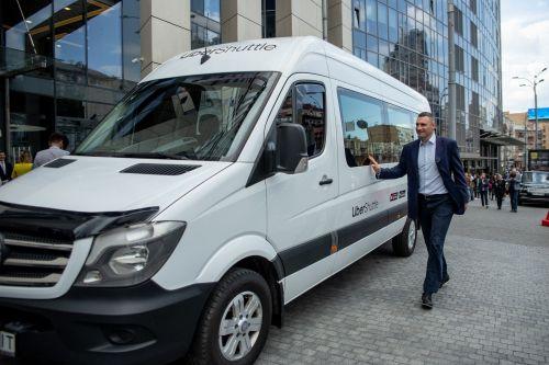 Альтернатива маршруткам: В Киеве запустили новый сервис UberShuttle
