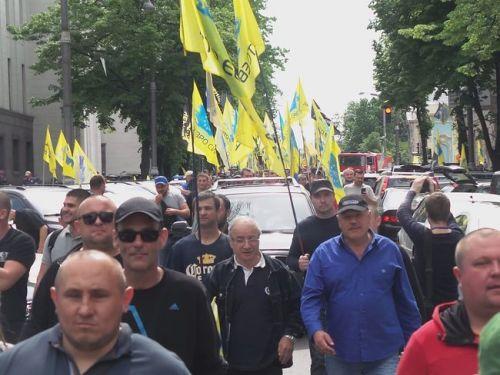 «Евробляхеры» протестовали сегодня под Кабмином. Какие их требования? - блях