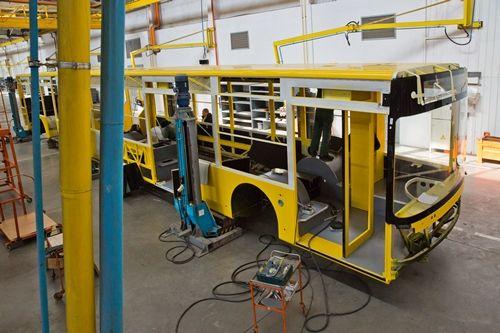 В Луцке продолжают производство крупной партии троллейбусов Богдан Т7011
