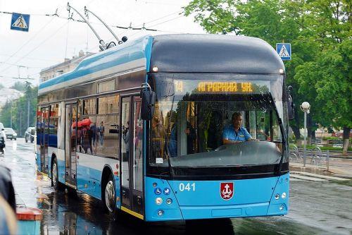 В Виннице на линию вышел первый троллейбус собственного производства