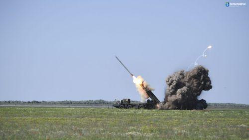 В Украине испытали реактивные системы «Ольха» на максимальную дальность поражения
