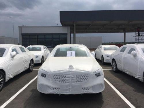 В России выпустили первые Mercedes-Benz