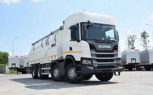 Scania реализовала в Украине самый дорогой грузовик в истории