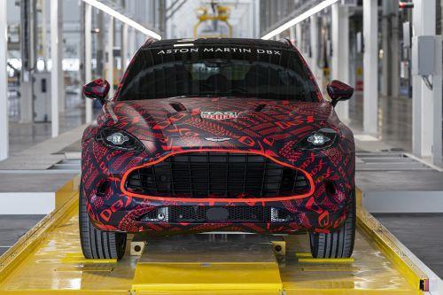 Aston Martin начал производство первого кроссовера
