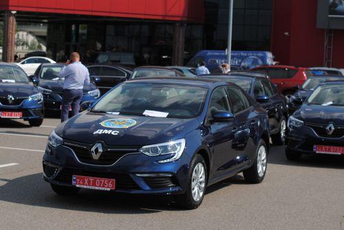 Территориальные подразделения Государственной Миграционной Службы пересели на Renault
