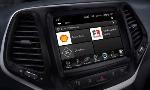 В Fiat и Jeep появится возможность бронировать паркоместа, столик в ресторане или заказать еду - FIAT