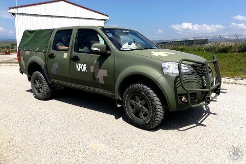 Командирские пикапы Богдан-2351 уже используют силы KFOR в Косово