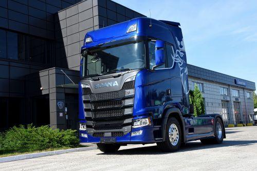 В Украину прибыла первая топ-версия Scania V8 730 л.с.