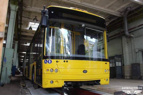 """В """"Киевпасстрансе"""" рассказали какие новые троллейбусы сейчас получают"""