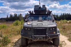 Еще один украинский бронеавтомобиль прошел государственные испытания Минобороны