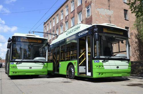 В Харькове начали тестировать троллейбусы «Богдан» из новой партии